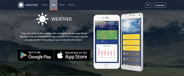 Best weather app for photographers