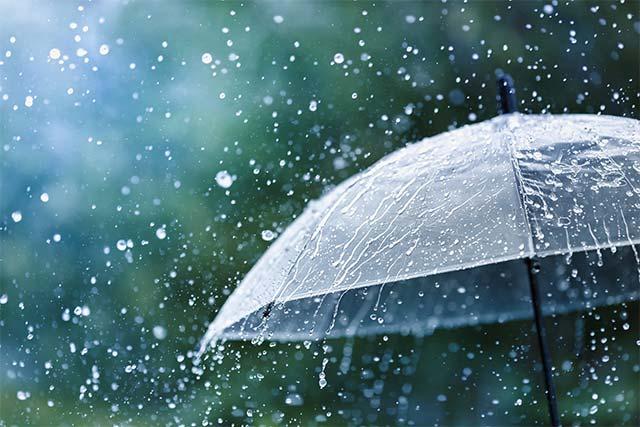 rainy weather tips