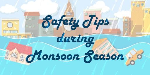 safety precautions during rainy season