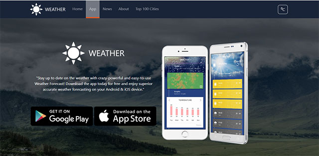 check weather online