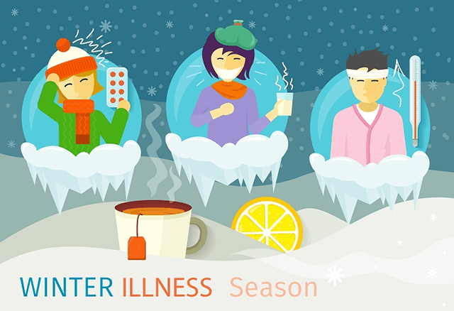 winter season diseases